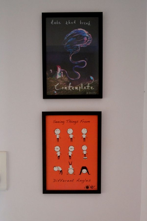 Fun posters. Take that break, contemplate. Seeing things from all angles.
