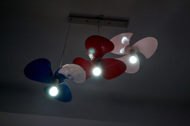 DIY Pendant lights – Re purpose stories