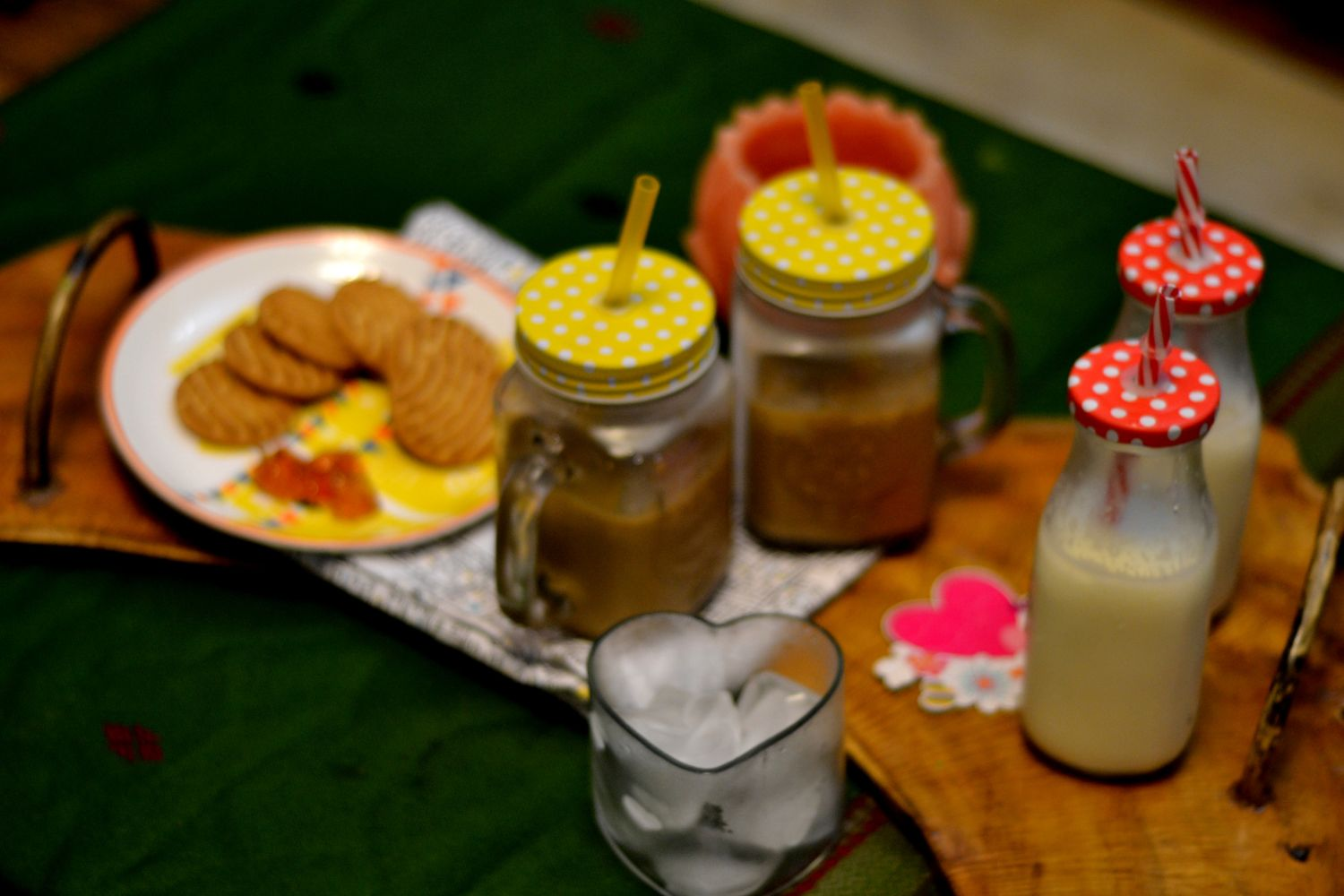 The Cold Coffee and Badam Milk Party