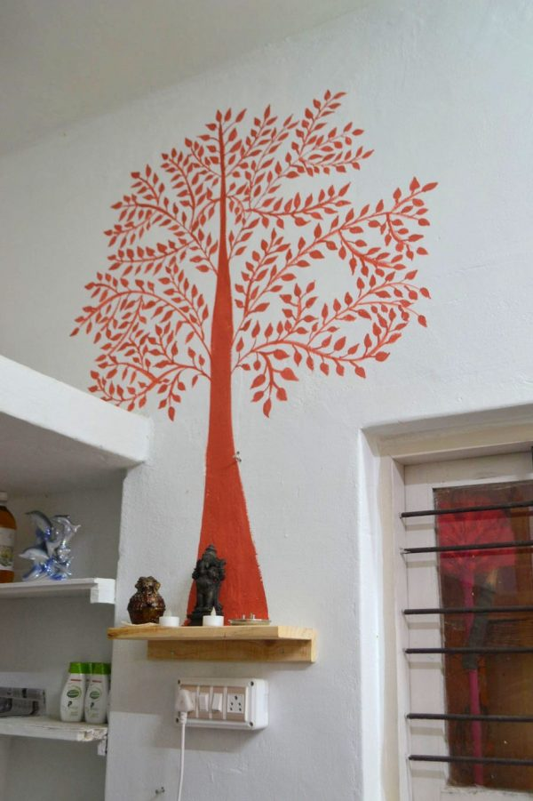 The Tree of Life at the New organic store in Koramangala - Swaasthya Organics