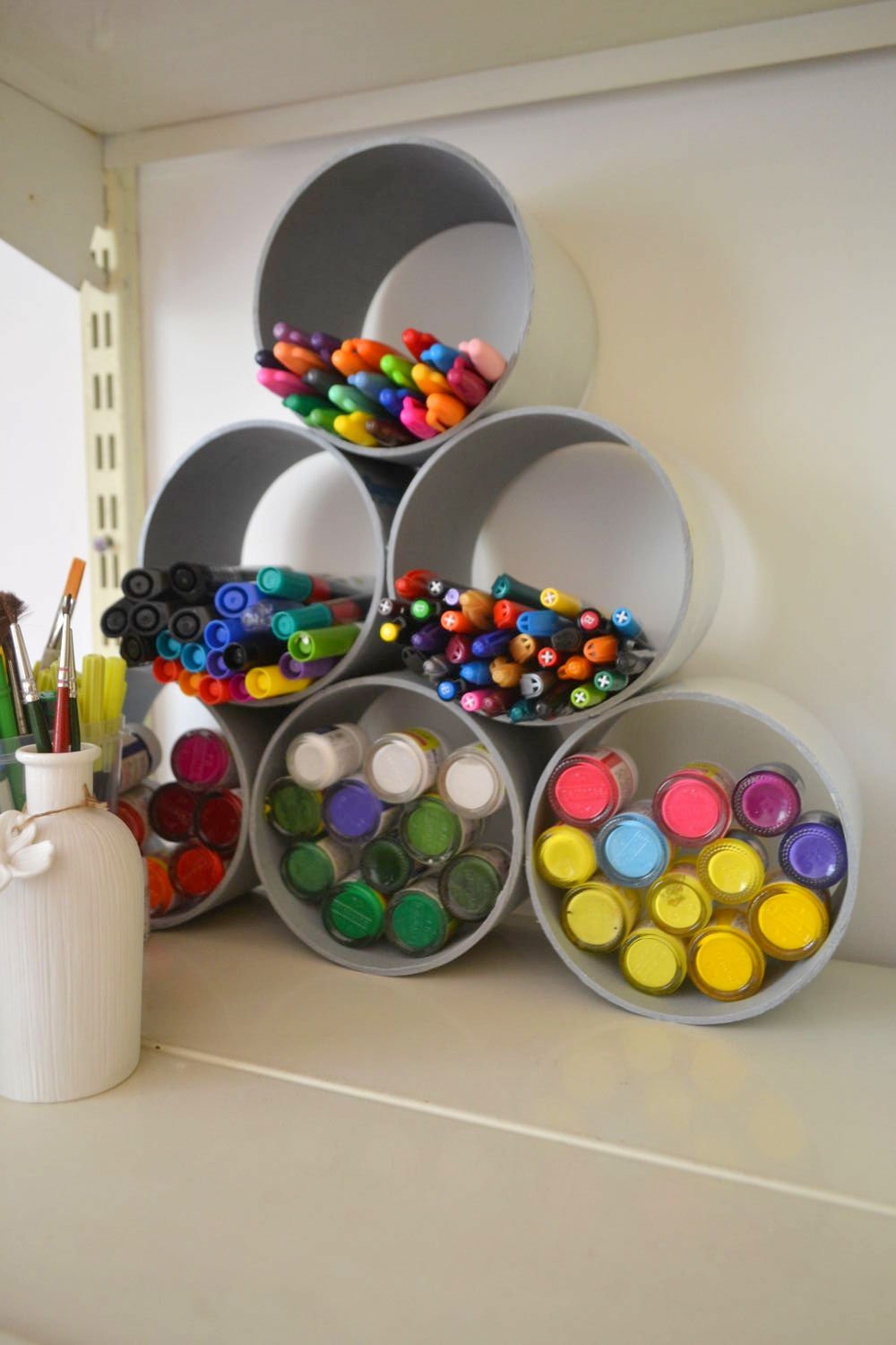 DIY – Pens and paints organizer