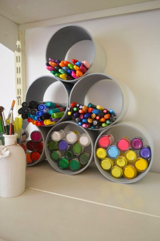 DIY – Pens and paints organizer