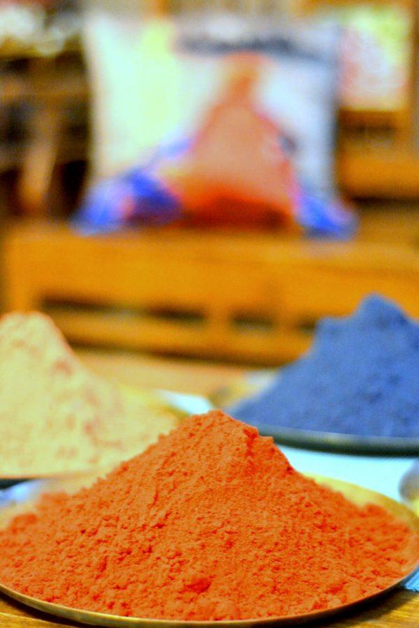 The holi colors
