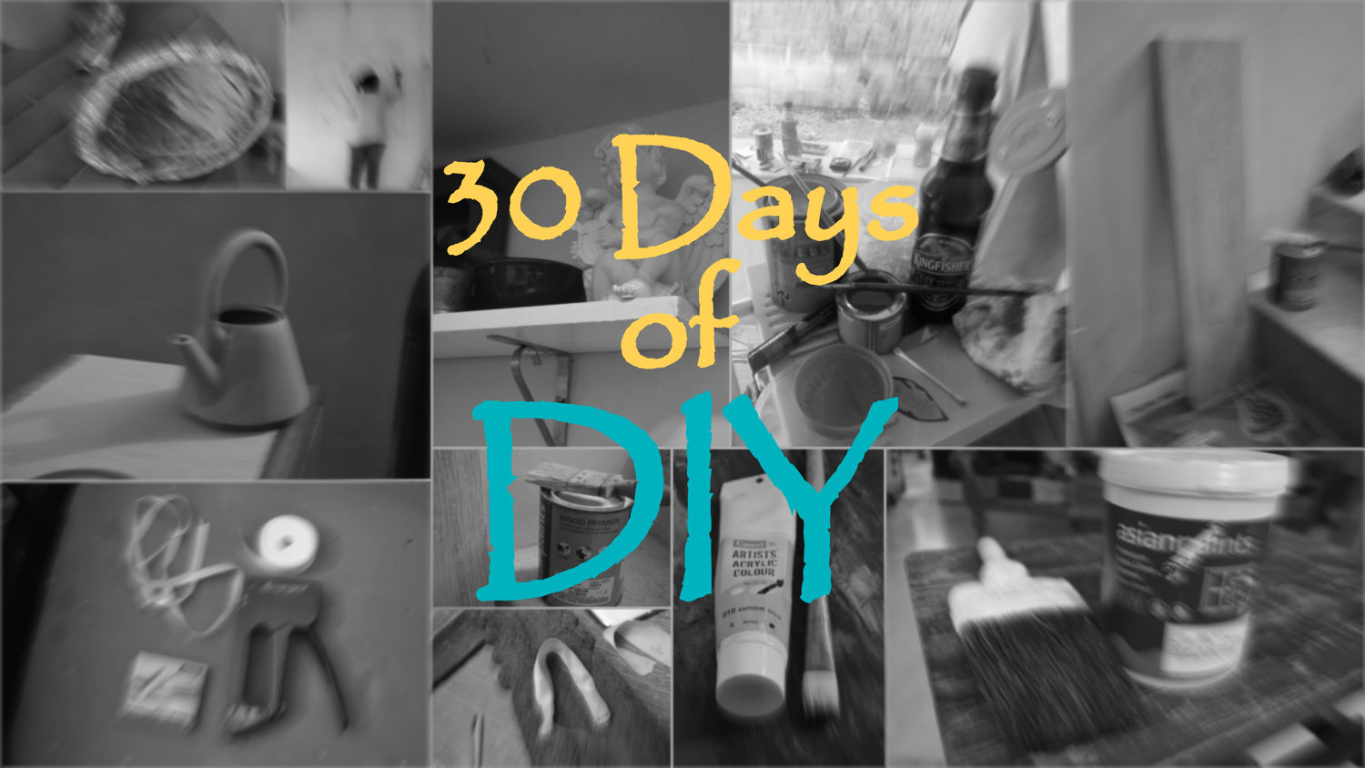 My Home tours Links and 30 days of DIY