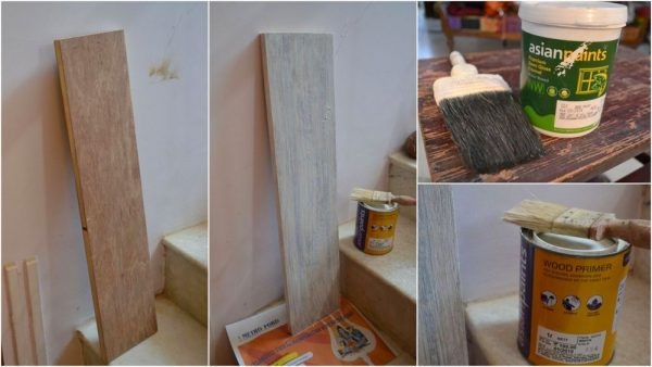 DIY Plywood Shelf