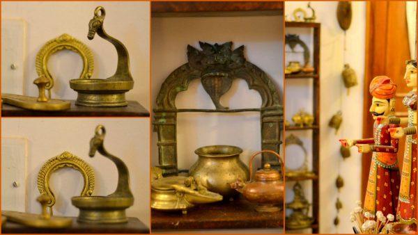 Diwali Decor ideas - My regular day brass display