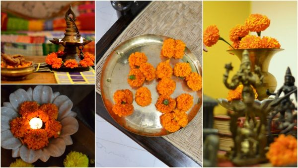 Diwali Decor ideas - Marigold is a must have flower for the season