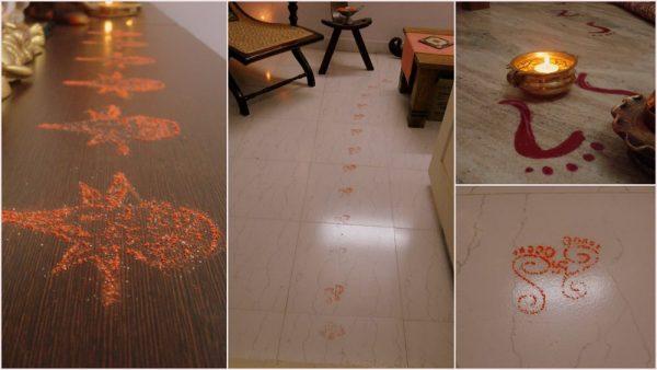 Diwali Decor Ideas- Rangoli time!