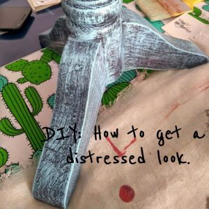 How to get a distressed look