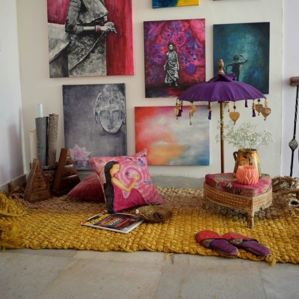 Affordable art in Bangalore.