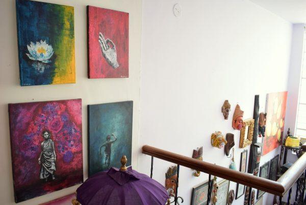 How to use art in abundance