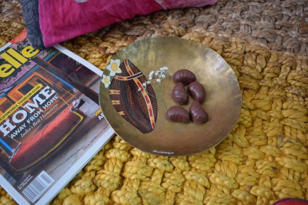 A painted bowl by baarique