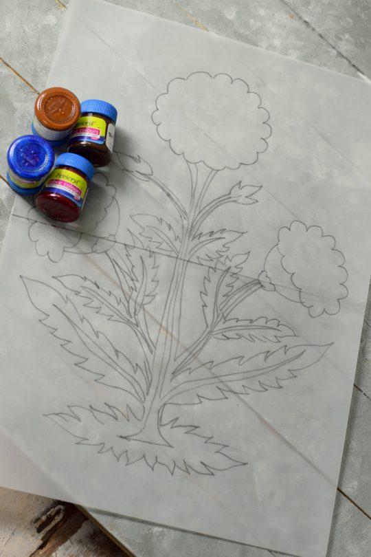 The stencil Motif