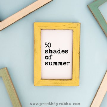 Fifty Shades for Summer
