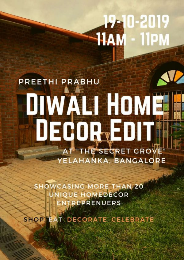 Preethi Prabhu Diwali home decor edit
