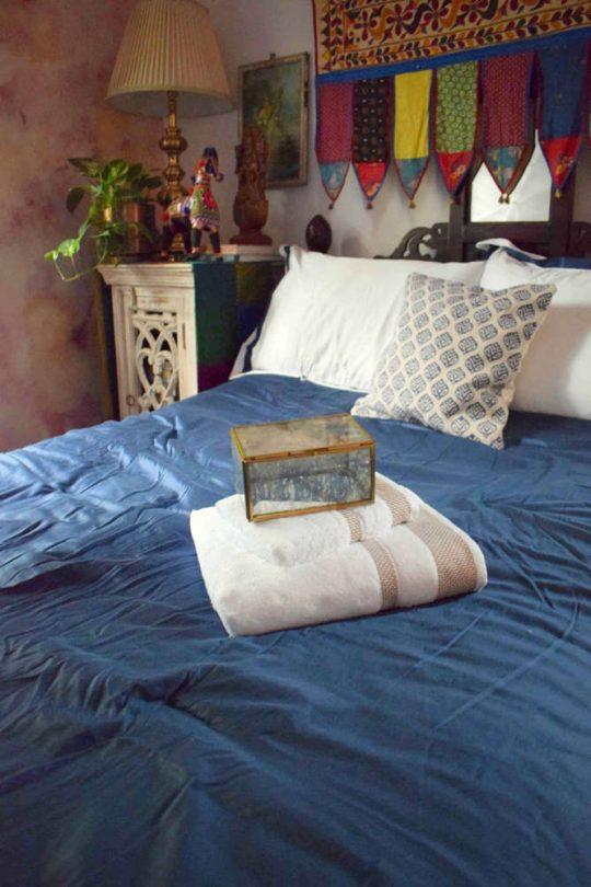 The boho bedroom