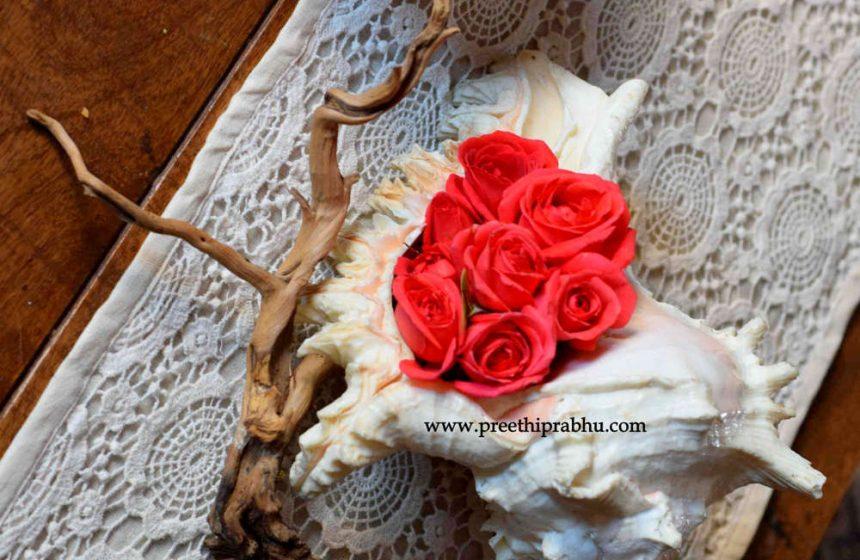 DIY – Flower Arrangement in a Conch