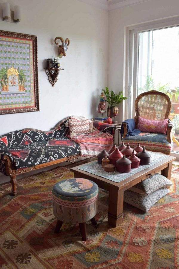 Stunning pieces of home decor items and artisanal products and textiles. At home with Preethi Prabhu