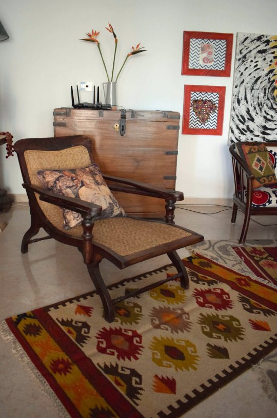 The planters chair is one of the first pieces of antique furniture that I purchased.